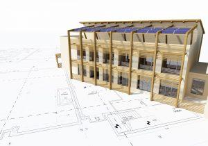 Progetto architettonico sostenibile